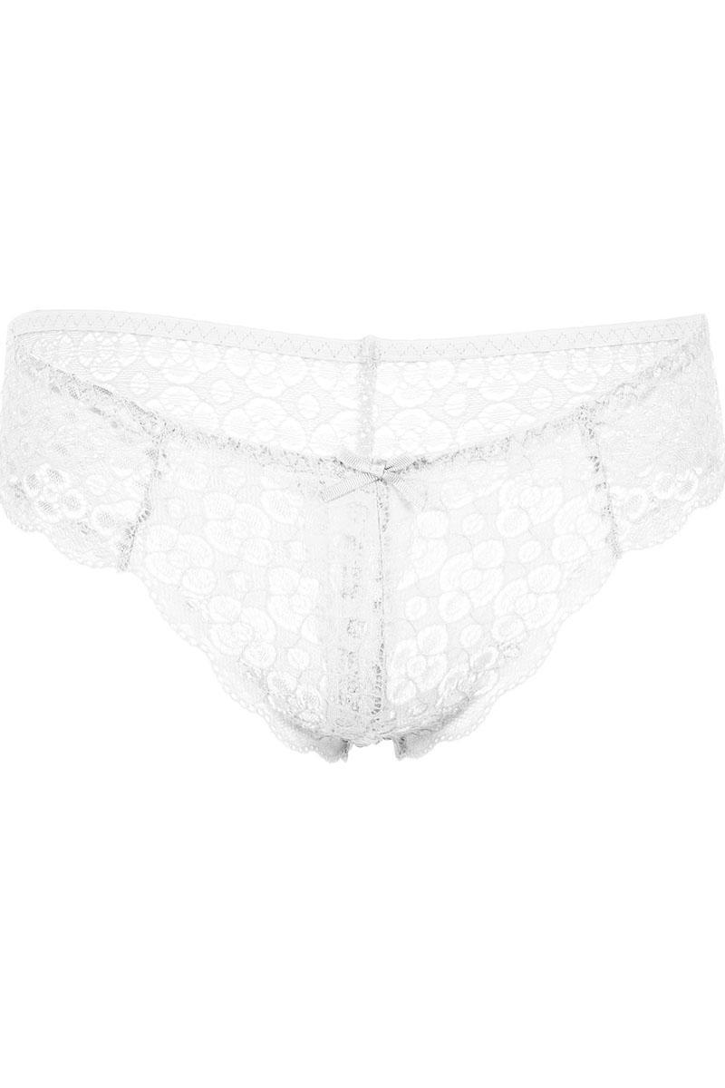 "Ladies 2 Pck Set Trendy /""Prints/"" Thong Panties in White//Blue Women sizes S M /& L"