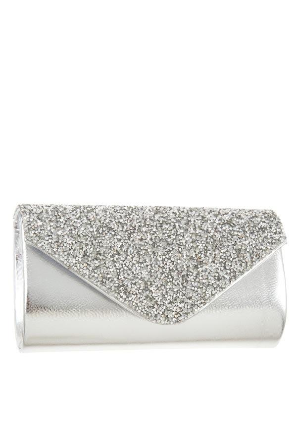 Encrusted rhinestone pave evening CLUTCH bag-id.CC35498