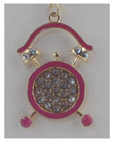 Chain alarm clock necklace-id.24662