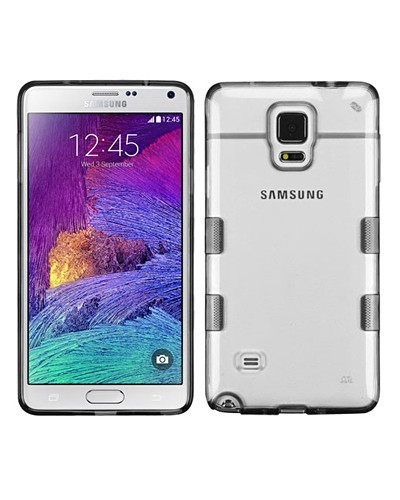 Transparent Samsung Galaxy Note 4 Back Cover-id.CC29265