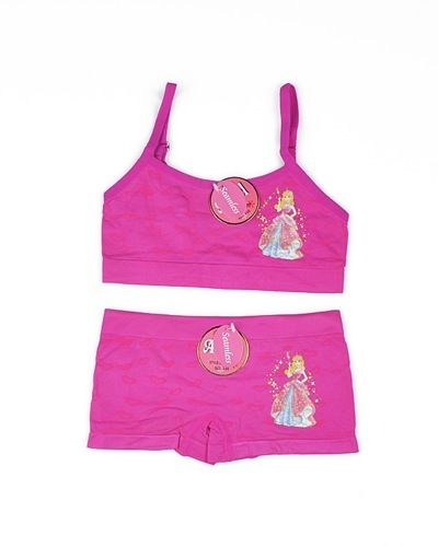 Set of Bikini Top and Shorts with Princess Theme-id.CC30804