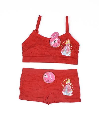 Set of Bikini Top and Shorts with Princess Theme-id.CC30804a