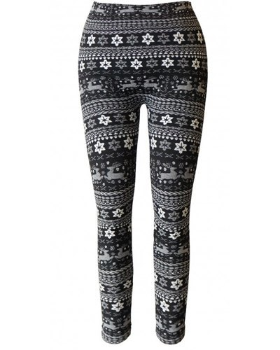 Girls Leggings with Traditional Print-id.CC30839