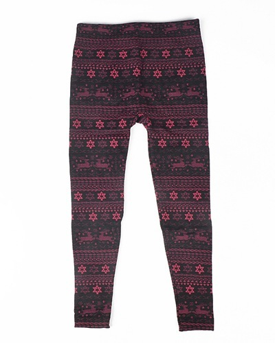 Girls Leggings with Traditional Print-id.CC30839a