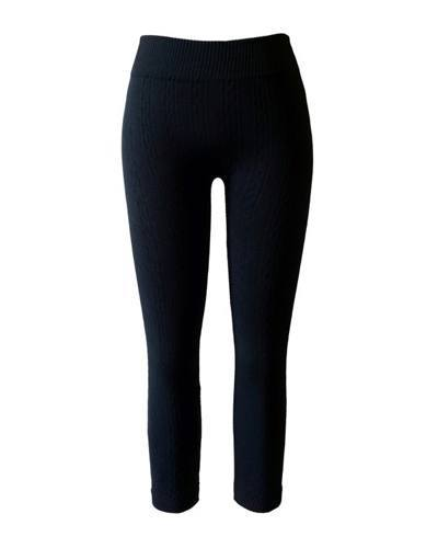 Girls Seamless Cable Fleece Knitted Leggings-id.CC30846b