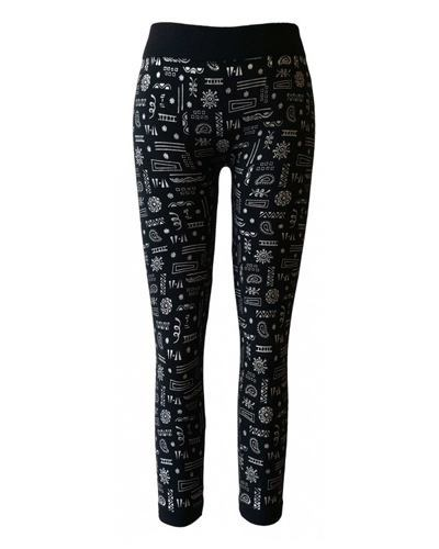 Girls Multiple Printed Leggings-id.CC30850