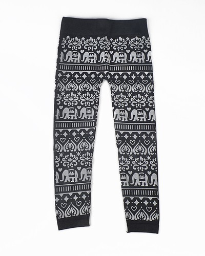Girls Traditional Printed Leggings-id.CC30852