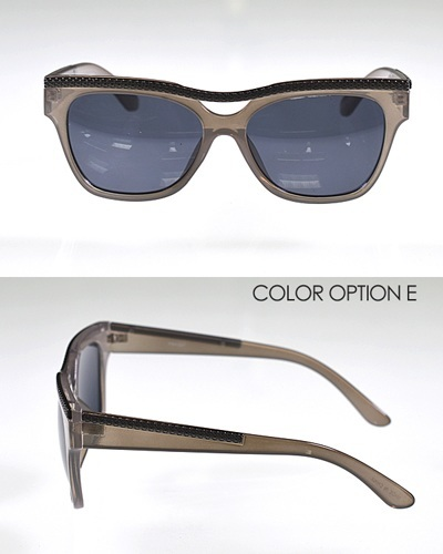 Wayfarer Sunglasses with Metal Embellishments-id.CC31101d