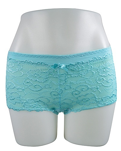 Women's sexy Lace Floral Patterned Boy Shorts Panty -id.CC31120c