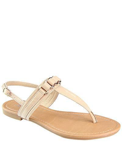 Flat Slip On with T Shape Ankle Strap-id.CC31222a
