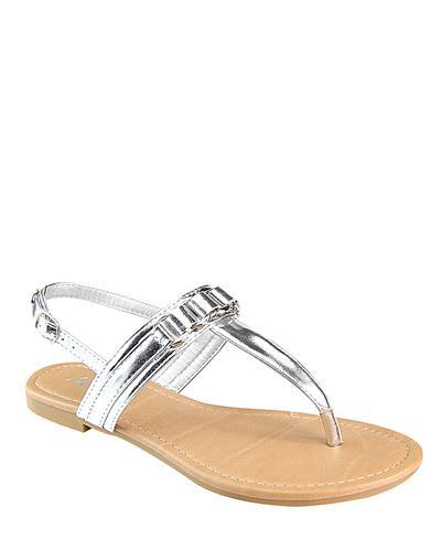 Flat Slip On with T Shape Ankle Strap-id.CC31222c