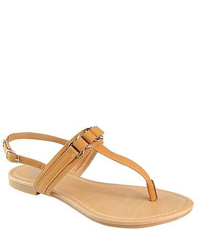 Flat Slip On with T Shape Ankle Strap-id.CC31222d