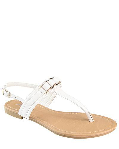 Flat Slip On with T Shape Ankle Strap-id.CC31222e