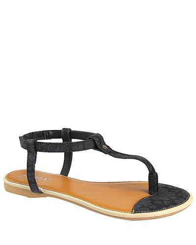 Flat Slip On with Open Toe T Strap-id.CC31230a