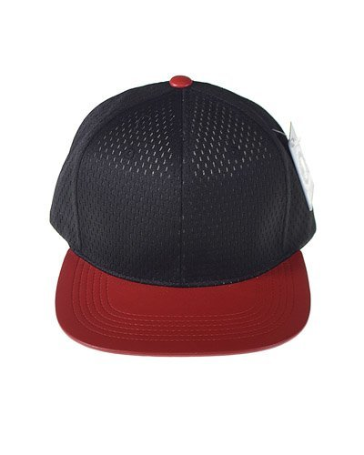 Snapback with Mesh Patterned Crown-id.CC31235a