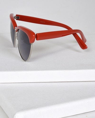 Oval Sunglasses with Half Frame-id.CC31305a