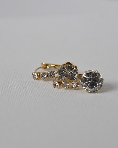 Drop Earrings with Crystals-id.CC31329