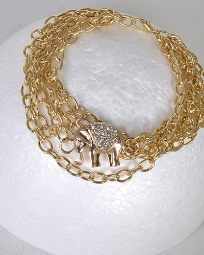 Multi- Layer Rolo Chain Bracelet-id.31472