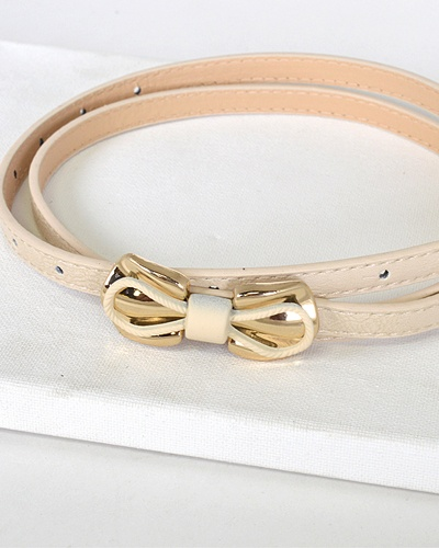 Bow Embellish Waist Belt-id.31553c