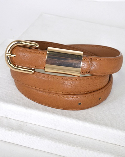 Metal Embellished Buckle Belt-id.31554
