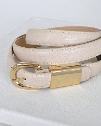Metal Embellished Buckle Belt-id.31554a