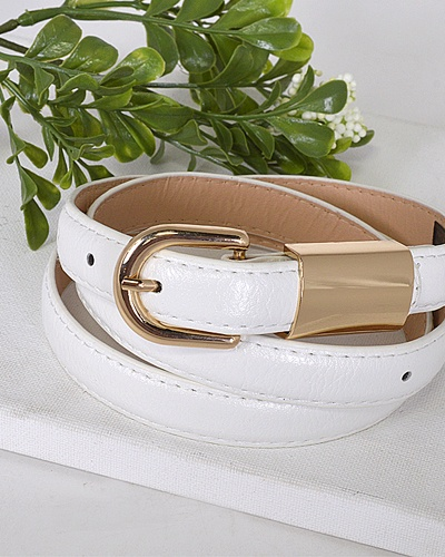 Metal Embellished Buckle Belt-id.31554c