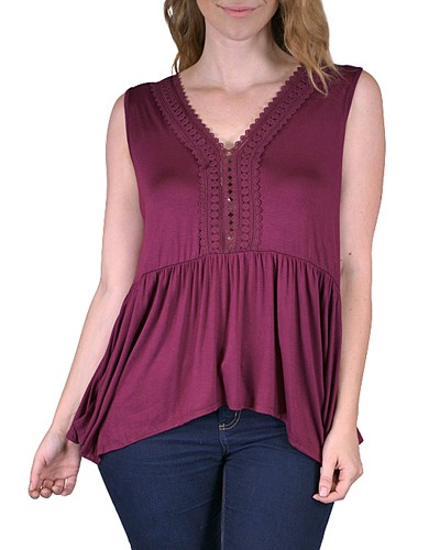 Plus sleeveless top-id.CC33570c