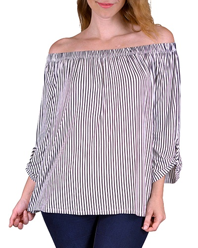 Plus off-the-shoulder top-id.CC33579a