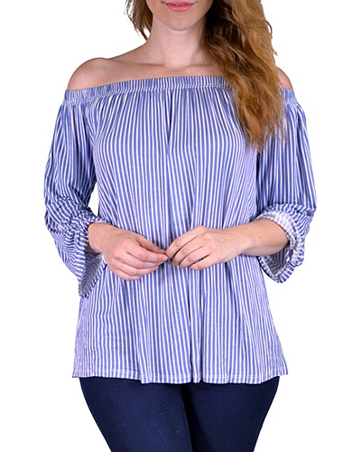 Plus off-the-shoulder top-id.CC33579b