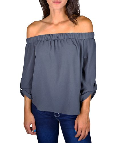 Long tabbed sleeve top-id.CC33617