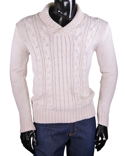 Men's ribbed sweater-id.CC33626