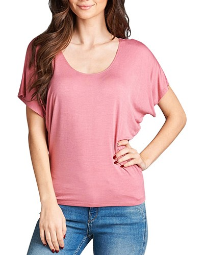 Relaxed fit round neckline top-id.CC33757k