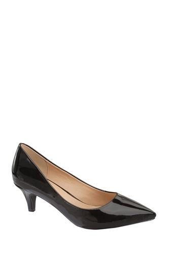 Ladies fashion closed pointed toe slip on, patent leather pump-id.CC34088