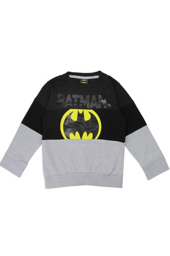 Boys batman 4-7 color block sweatshirt-id.CC34205