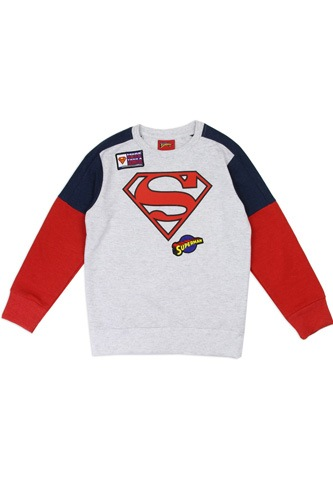 Boys superman 2-4t sweatshirt-id.CC34208