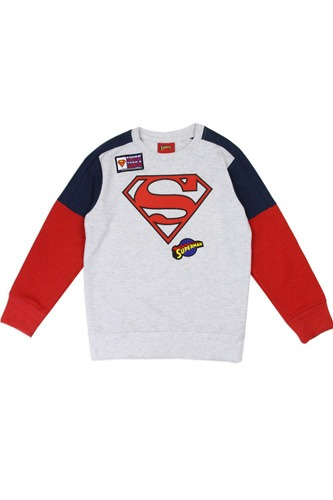 Boys superman 4-7 sweatshirt-id.CC34209