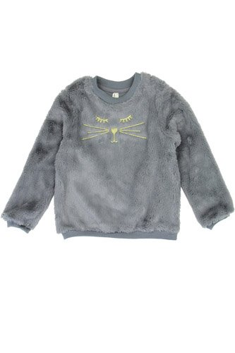 Girls love @ first sight 2-4t cozy pullover -id.CC34223