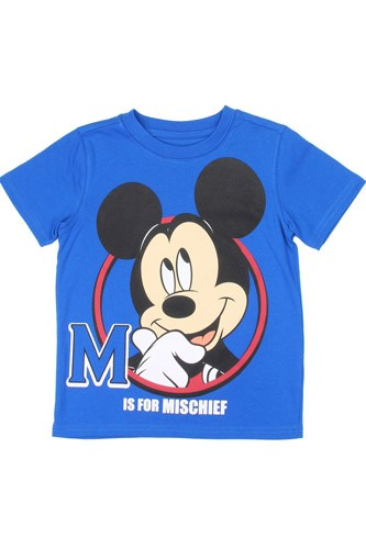 Boys mickey mouse 2-4t t-shirt-id.CC34227