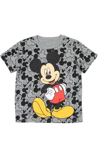 Boys mickey mouse 4-7 t-shirt-id.CC34230
