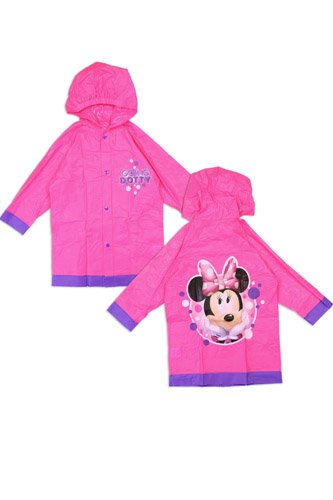 Girls minnie mouse 2-7 rain slicker-id.CC34240
