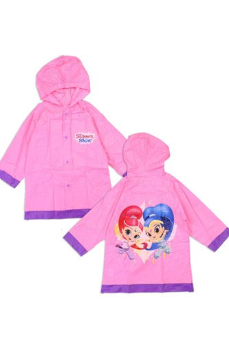 Girls shimmer and shine 2-7 rain slicker-id.CC34242