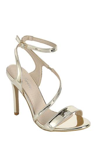 Ladies fashion high heel sandal, open almond toe, platform stiletto-id.CC34381a