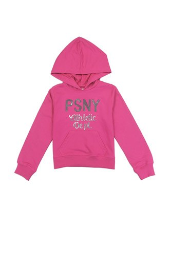 Girls AÉROPOSTALE 7-14 hooded  french terry sweatshirt with sequin logo-id.CC34435