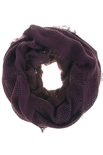 Ladies fashion earthy tone solid color infinity scarf-id.CC34538