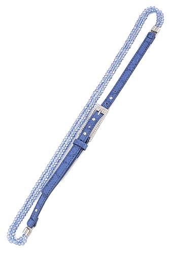 Bead crystal belt-id.CC34717