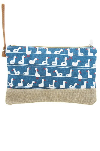 Swimming duck clutch bag-id.CC34740
