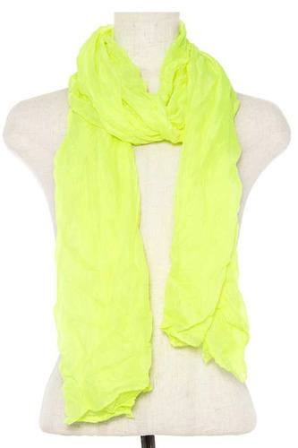 Wrinkled solid oblong scarf-id.CC35791