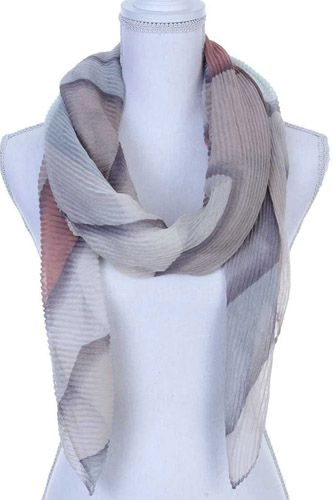 Textured oblong scarf-id.CC36131