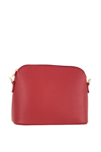 Faux leather dome crossbody bag-id.CC36290