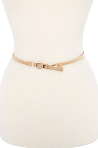 Buckle metal accent springy belt-id.cc36490